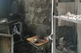إنفجار اسطوانة غاز في أحد الشقق السكنية بولاية صور
