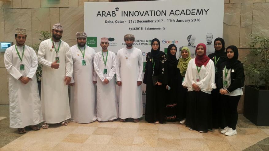 طلبة جامعة السلطان قابوس يختتمون مشاركتهم في دورة ريادة الأعمال بقطر
