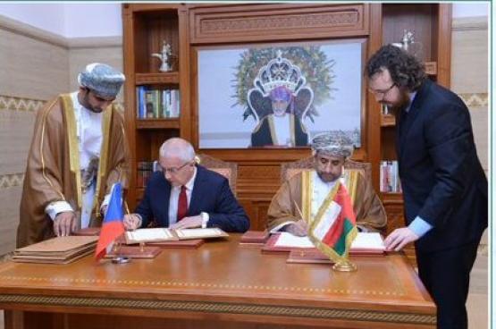 """توقيع اتفاقية """"الأجواء المفتوحة"""" بين السلطنة والتشيك"""