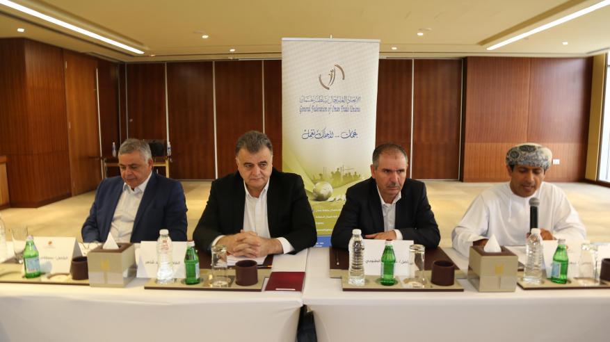 اتحاد عمال السلطنة يستضيف اجتماعات التحضير لمؤتمر الاتحاد العربي للنقابات
