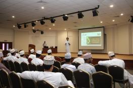 محاضرة عن التجارة الإلكترونية ضمن فعاليات جائزة الشباب