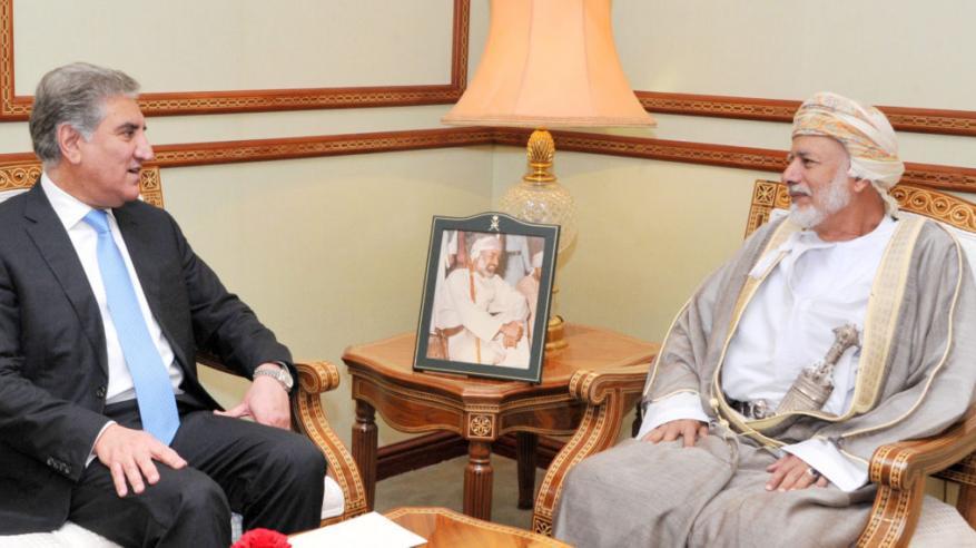 بن علوي يستقبل وزير الخارجية الباكستاني