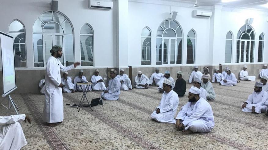 محاضرة في السيرة المحمدية بجامع المسفاة بالرستاق