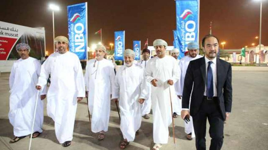 NBO - NBO Shared The Joy Of Al Kanz Winner At Salalah Tourism Festival (2)