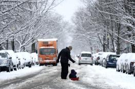 بالصور والفيديو..العواصف الثلجية تقتل 5 في كاليفورنيا