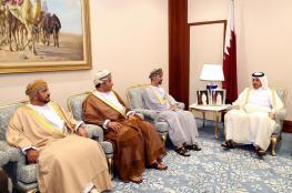 المعولي يبحث تعزيز التعاون البرلماني مع رئيس مجلس الوزراء القطري