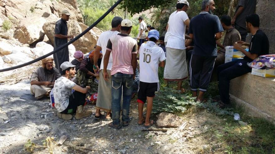 اختتام المركز الصيفي بقرية سني بالرستاق