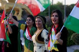 """تركيا تبقي """"كل الخيارات مطروحة للانتقام"""" بعد استفتاء كردستان.. وأكراد إيران يتظاهرون تأييدا"""