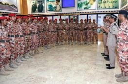 أكاديمية الشرطة تستقبل الضباط المرشحين بالجيش السلطاني