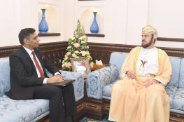 السيد أسعد يستعرض العلاقات مع سفيري اليابان والهند
