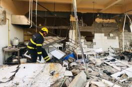 بالصور.. وفاة شخص في عبري إثر انفجار اسطوانة غاز بأحد المطاعم