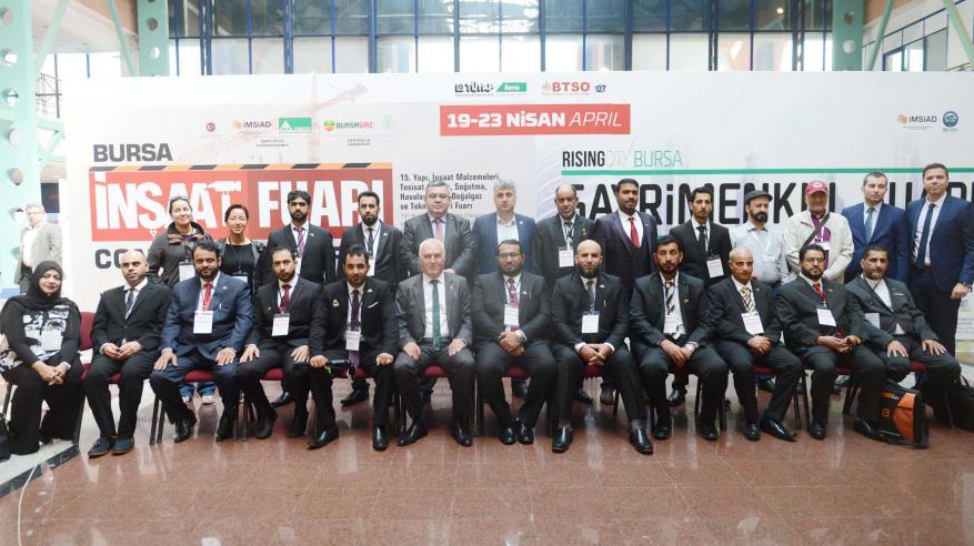 """أعضاء وفد """"الغرفة"""" إلى تركيا يوقّعون عقودا واتفاقيات شراكة وتعاون في مجالات متنوعة"""