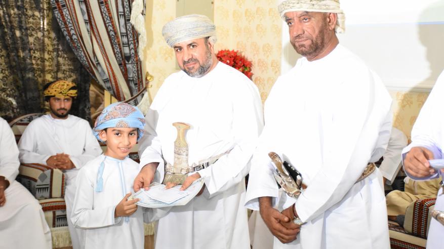 تكريم الفائزين في المسابقة الرمضانية للقرآن الكريم بصحار