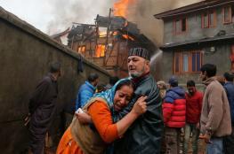 فيديو مأساوي.. مقتل 19 طالبا هنديا إثر حريق بمركز تعليمي
