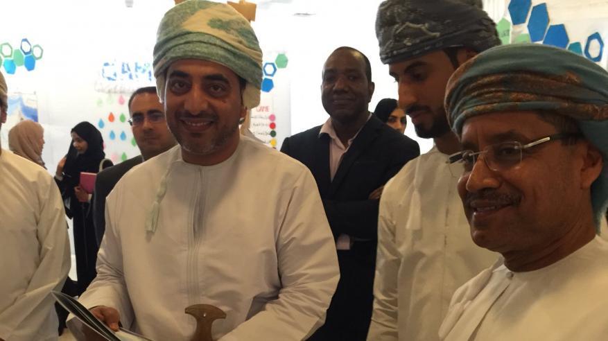 افتتاح معرض الأسبوع الجغرافي الرابع بجامعة السلطان قابوس