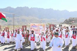 مشايخ ومسؤولو الظاهرة يجددون العهد والولاء بمناسبة العيد الوطني الـ47 المجيد