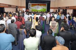 السفارة الهندية تحتفل بيوم الجمهورية الـ 71