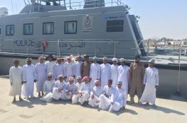 مركز شرطة خفر السواحل بصور يستقبل طلبة مدرسة طهوة