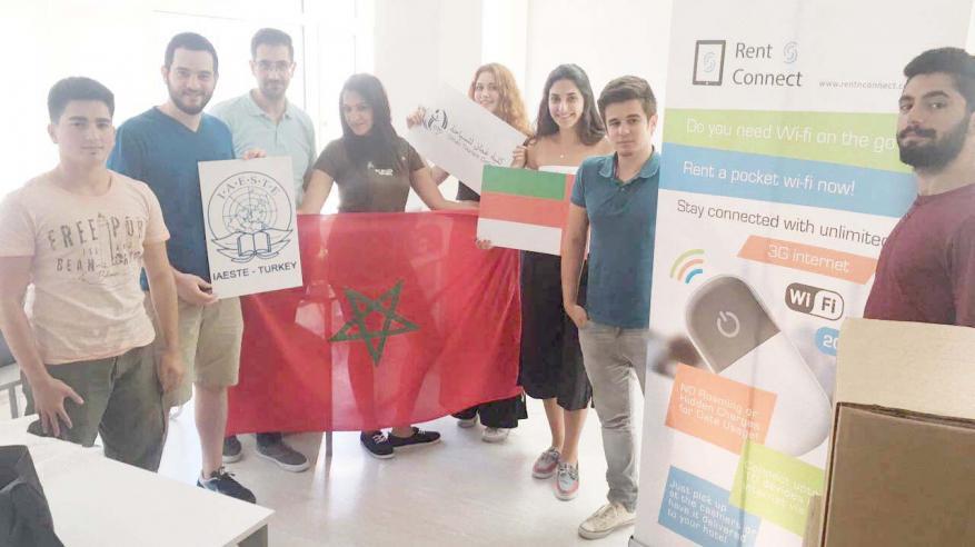 برنامج للتبادل الطلابي الدولي مع كلية عمان للسياحة