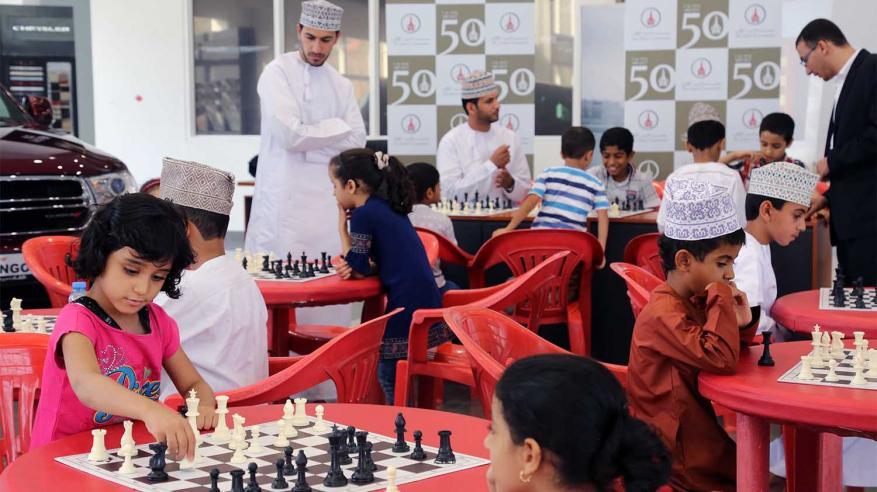 """""""مؤسسة الزبير"""" تنظم يوما تدريبيا لناشئي الشطرنج بالداخلية"""