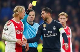 بالفيديو.. إيقاف كابتن ريال مدريد لتعمده نيل بطاقة صفراء