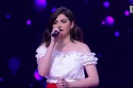 """بالفيديو.. فتاة فلسطينية تثير الجدل بعد مشاركتها في """"ذا فويس إسرائيل"""""""