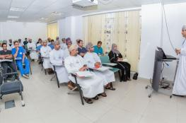 مركز المحاكاة ينفذ برنامجا تدريبيا على الدعم الطبي للأزمات والكوارث