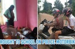 تستدعي الشرطة لإيقاظ حفيدها وحضور الامتحانات!