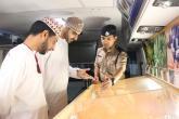 فريق التوعية بالمخدرات يشارك في مهرجان صلالة
