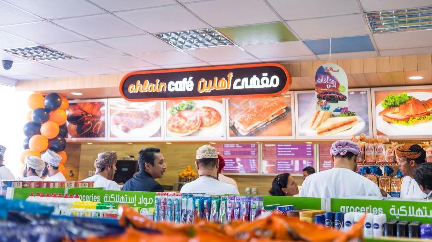 """افتتاح أول مقاهي """"أهلين"""" في محطة تعبئة وقود قرب """"الصحوة"""""""