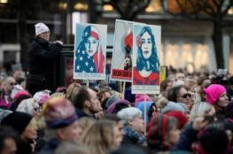 احتجاجات نسائية في عدد من عواصم العالم ضد الرئيس الأمريكي
