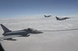 """مهام جوية مشتركة في تمرين """"البساط السحري"""" لتعزيز الكفاءة القتالية والجاهزية العملياتية"""