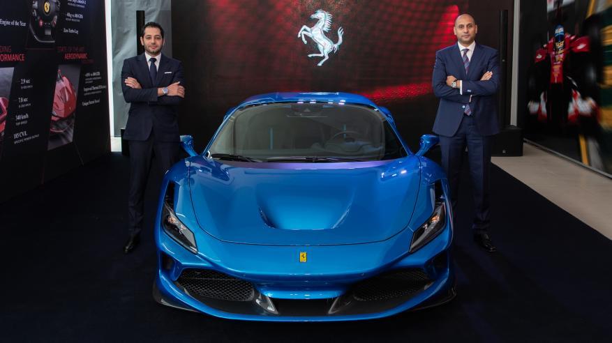 Ferrari F8 Tributo - Oman Launch 1