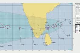 استمرار تحرك الحالة المدارية في خليج البنغال نحو بحر العرب