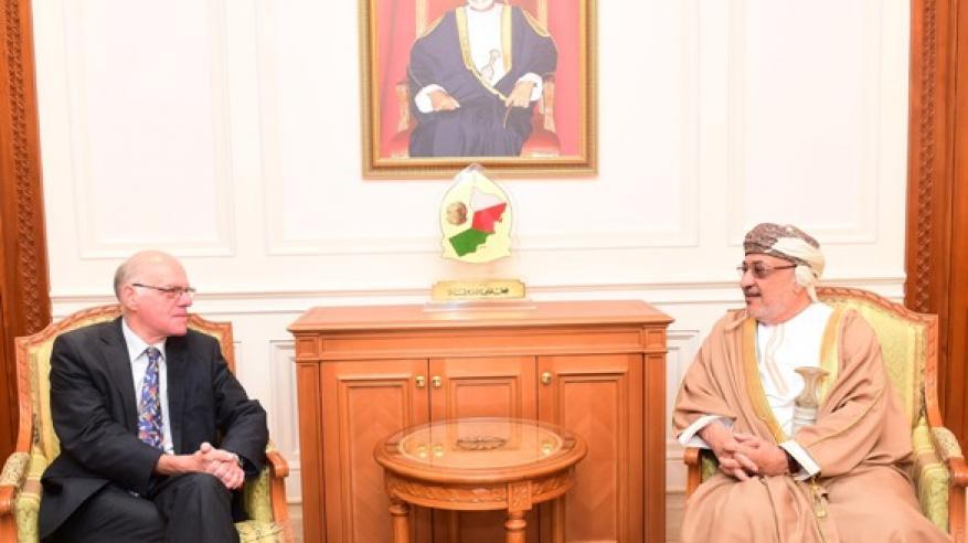 المنذري يناقش مع رئيس البرلمان الألماني آفاق التعاون الثنائي