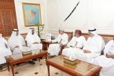 """رئيس """"الرقابة المالية والإدارية"""" يستقبل رؤساء الوفود المشاركة في اجتماع """"أجهزة حماية النزاهة"""" الخليجية"""