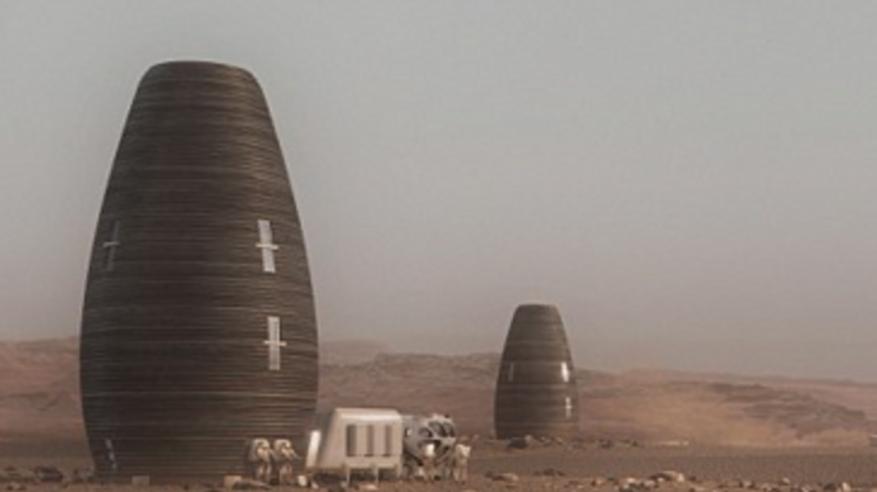 هكذا ستصبح منازل البشر على كوكب المريخ
