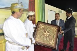 والي هيماء يفتتح معرض الفنون التشكيلية للمدارس