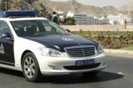 حادث تدهور على طريق (نزوى – مسقط)