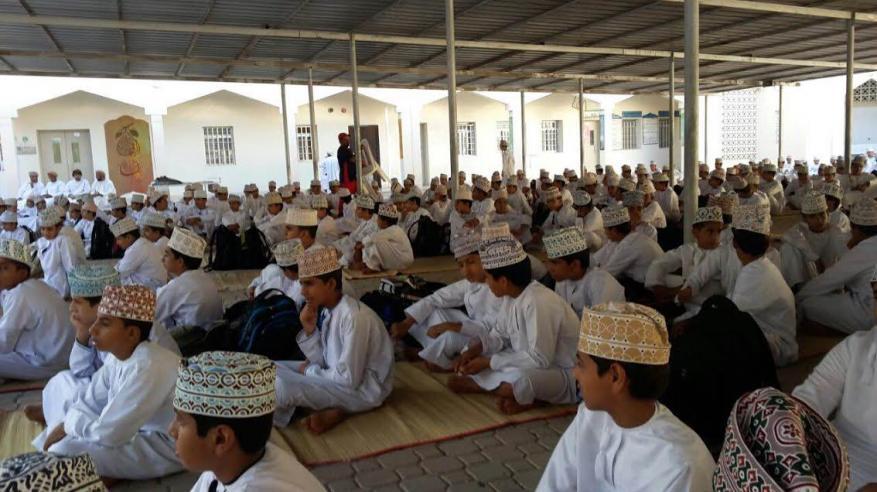 مدرسة الشيخ ابراهيم بن سعيد العبري تحتفل بالعام الهجري الجديد