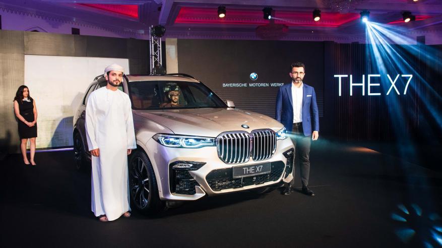 """""""الجنيبي"""" تطرح طراز """"BMW X7"""" الأول في السلطنة"""