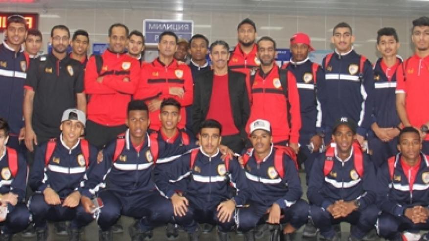 منتخبنا للشباب يصل قيرغستان تأهبا لتصفيات نهائيات آسيا