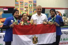 مصر بطلا لدورة الألعاب الإفريقية للشباب بـ205 ميداليات