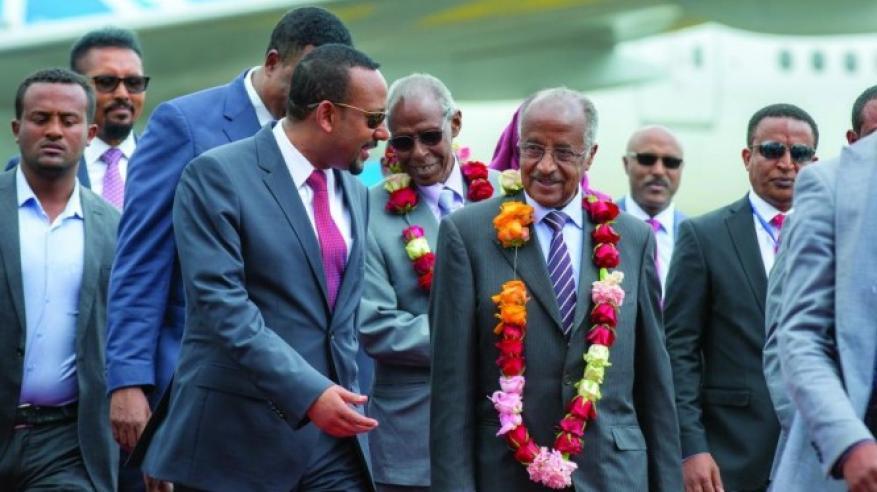 محادثات سلام تاريخية بين زعيمي إثيوبيا وإريتريا