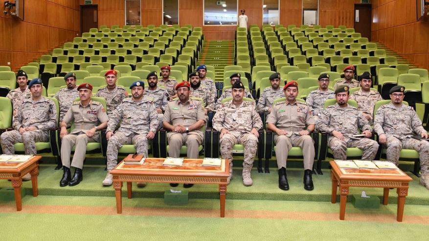 وفد عسكري سعودي يزور كلية الدفاع الوطني