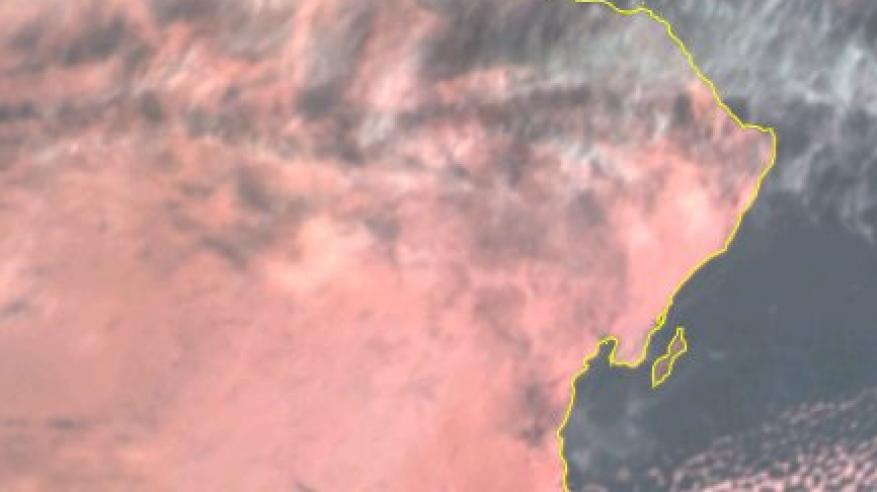 انتشار السحب المنخفضة والعالية على معظم محافظات السلطنة