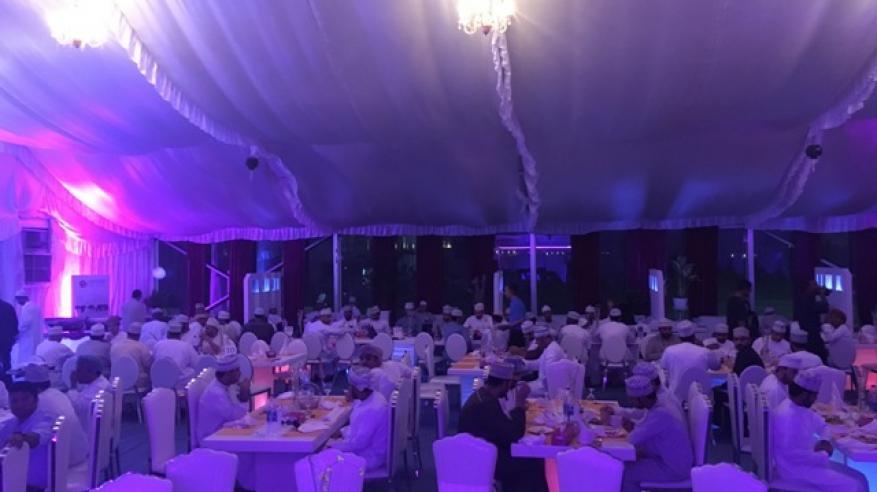 حفل إفطار لزبائن بنك صحار من القطاعين الحكومي والخاص