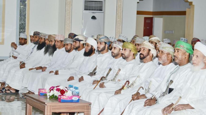 اختتام مسابقة حفظ القرآن الكريم لفريق النجوم بسمائل