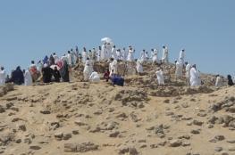 بعثة الحج العسكرية تغادر المدينة المنورة إلى مكة المكرمة