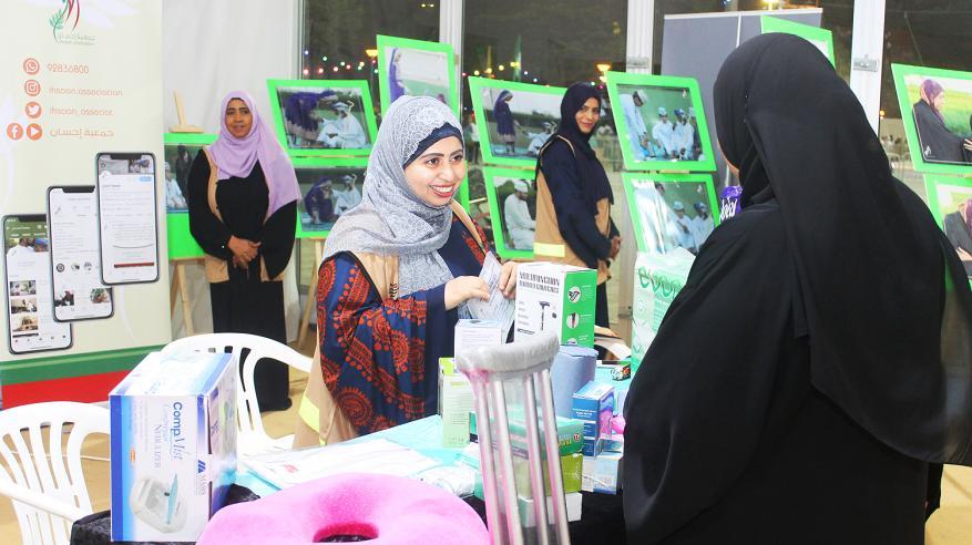 جمعية إحسان تواصل التوعية برعاية كبار السن